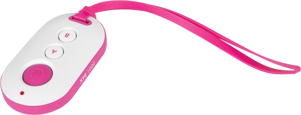 Controle Remoto XTR 1000 Branco/rosa