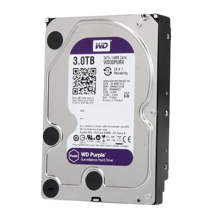 HD WD 3TB SATA 6GB/S WD30PURZ