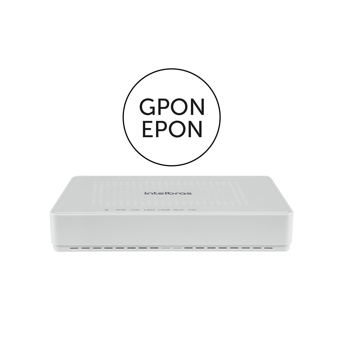 ROTEADOR GPON 2P GE 1P FXS WIFI-ONT121W-SKD