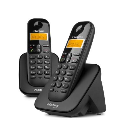 Telefone Sem Fio Digital Com Ramal Adicional TS 3112