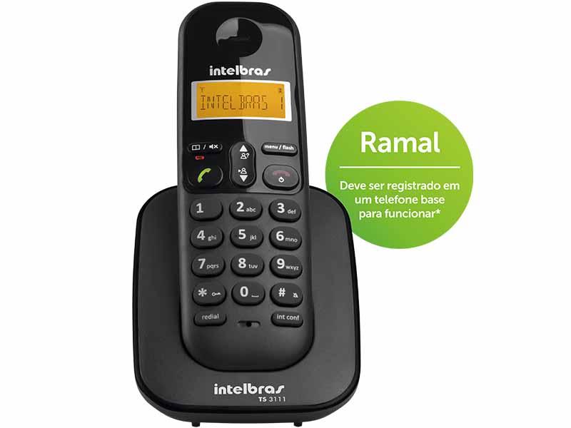 Telefone Sem Fio Ramal Digital TS 3111
