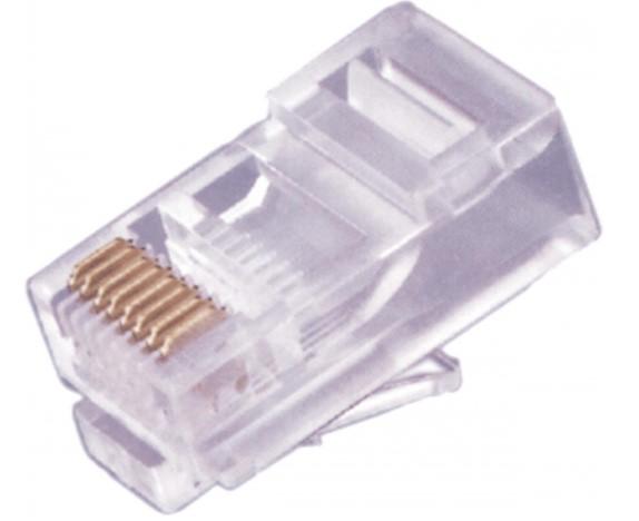 CONECTOR RJ 45 8X8 CAT6 10X1