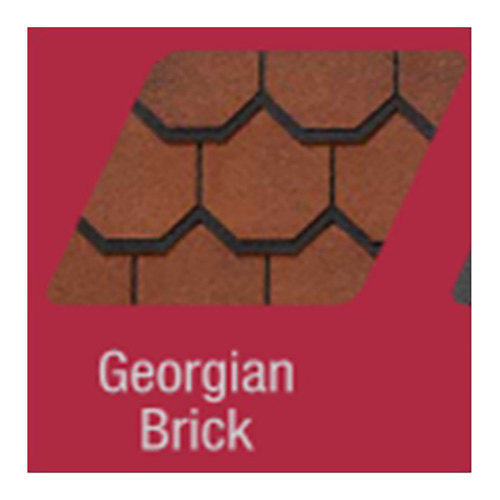 TELHA SHINGLE CARRIAGE HOUSE GEORGIA BRICK 1,86 M2 -  PCT