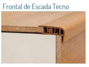 FRONTAL DE ESCADA TECNO 12 X 40 MM - ACACIA