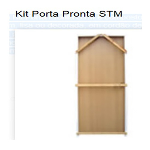 KIT PORTA PRONTA DRYWALL 600X2110X75 MM-LD -  UND